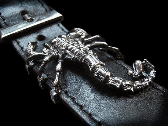 Мужской ремень со скорпионом как смотрится женский ремень hermes