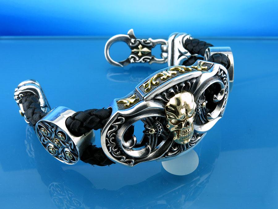 Эксклюзивный мужской браслет - подарок мужчине
