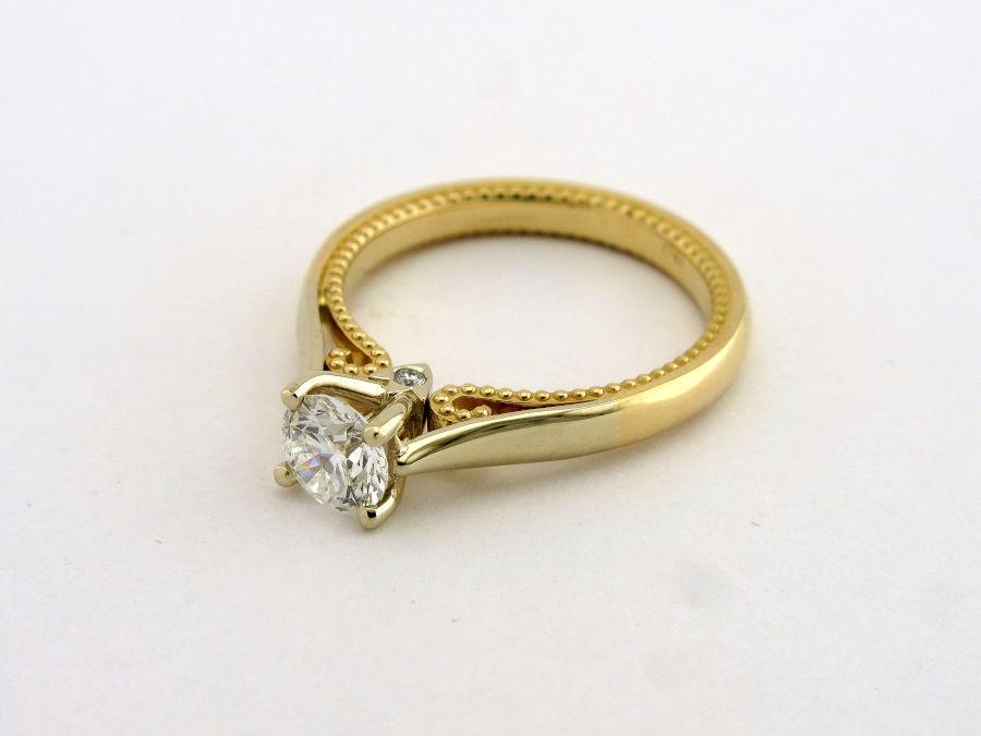 Кольцо для помолвки от мастерской «Ювелирная коллекция»