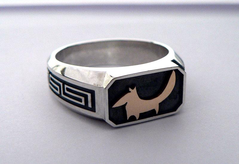 ювелирные изделия печатки кольца